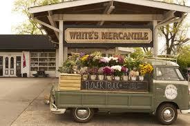 white s mercantile pop up