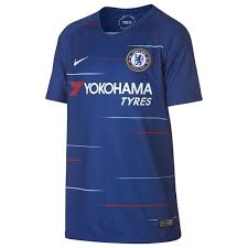 Show your support for the blues and manager frank lampard with the latest chelsea branded. Nike Chelsea Fc 2018 19 Home Juniors Jersey International Replica Shirts Sportsdirect Com