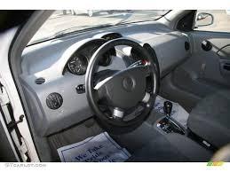 Gray Interior 2005 Chevrolet Aveo LS Sedan Photo #40666907 ...