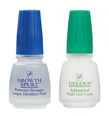 american clic nail care set gelous nail gel base coat nail polish growth spurt nail treatment