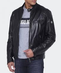 ett reversible leather jacket