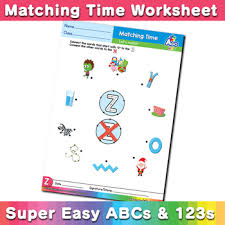 Worksheet for (very) young learners who have just started reading. Words Starting With Z Simple Phonics Matching Time Free Esl Worksheet Bingobongo