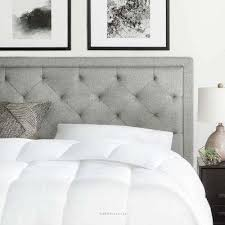 cheap white headboard.  Cheap Upholstered Stone Queen With Diamond Tufting Headboard With Cheap White E