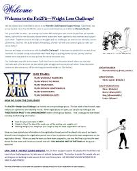Fat 2 Fit Weight Loss Challenge And Support Group