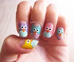 Cute Little Owls Nails   Twentysixnails