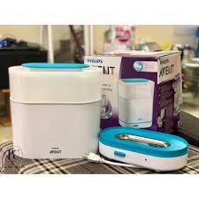 Máy tiệt trùng bình sữa Philips Avent 3in1 284.02 - Vỏ thùng xấu, Giá tháng  1/2021
