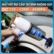 Máy hút bụi mini cầm tay ướt và khô nhỏ gọn KOSKO trong oto xe hơi ô tô cắm  điện tẩu k không dây gia đình sạc pin USB tại Hà Nội