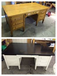 Refinished school teacher's desk! $40 craigslist find! Refinished with  Minwax espresso stain and polyurethane