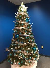 Christmas Tree In The Office Membersfirst Office Photo