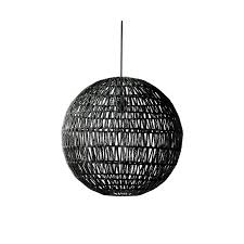 black woven pendant light 50cm diameter lighting wholesalers