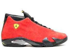 Air Jordan 14 Retro Ferrari Air Jordan 654459 670 Challenge Red Black Vibrant Yellow Anthracite Flight Club