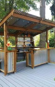 diy patio bar. 27 Amazing Outdoor Kitchen Ideas Your Guests Will Go Crazy For With Diy Patio Bar And