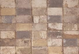 rustic brick tiles old havana mix