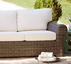 huntington sunbrella outdoor furniture cushion slipcovers pottery barn
