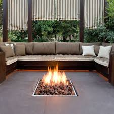 Sunken Fire Pit Living Room Contemporary With Phoenix Home BuildersSunken Fireplace