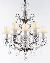 swarovski crystal trimmed wrought iron crystal chandelier chandeliers lighting h 31 x w 24 good for dining room foyer entryway family room