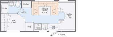 >minnie winnie floorplans winnebago rvs entry steps