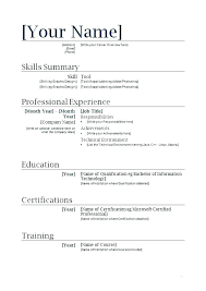 Resume For A Highschool Student Magnificent Simple Job Resume Examples High School First Template Student