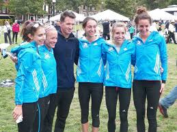 the b a a won the usa national 10k team championship at the tufts 10k for women