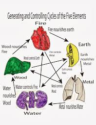 Chinese Medicine 5 Elements Chart