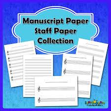 Free Printable Music Manuscript Paper