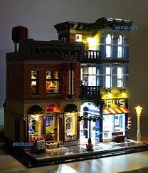 lego lighting. Detective\u0027s Office Lighting Kit For LEGO Set 10246 By Brick Loot Lego