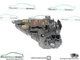 bmw 5 series fuse box replacement fuse boxes bmw 5 series e60 e61 lci rear boot fuse box power distribution board 2007