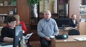 Кафедра СМИК Предзащита проходила в режиме онлайн Вел заседание Лесовик Валерий Станиславович в режиме онлайн находясь в этот момент в Европе Помимо профессоров