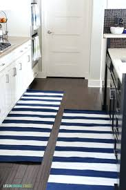 navy runner rug kitchen navy and white striped runner rugs life on street navy runner rug