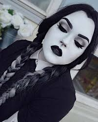 wednesday addams for easy last minute makeup looks