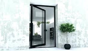 metal entry door with glass exterior steel doors with glass custom made glass doors glasetal entry door with glass steel