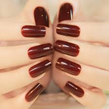 Hot Selling French High Light <b>Texture</b> Color Full <b>Cover</b> Nails Tips ...
