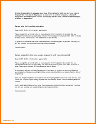 Formal Resignation Letter Sample Download Pdf Without Notice In