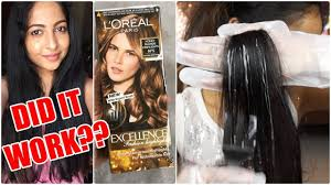 First Impressions Loreal Excellence Fashion Highlights Did It Work Stacey Castanha