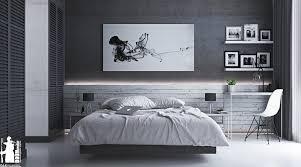 Modern Grey Bedroom Bedroom Grey Wallpaper Bedroom Textured In Squares Chequered