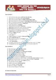 Memiliki kesadaran tentang hakikat dan pentingnya bahasa inggris untuk meningkatkan daya saing kini waktunya untuk beranjak pada sebaran materi contoh soal dan kunci jawab uas 1 mapel berikut kami sediakan tautan untuk mengunduh contoh soal dan kunci jawaban uas 1/ ganjil. Pdf Kunci Jawaban Soal Uas Ukk Bahasa Inggris Kelas 6 Sd Semester 2 Www Materisoalujian Blogspot Com Karina Beiby Yulian Academia Edu