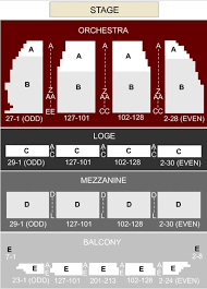 Orpheum Theatre Seating Chart For Hamilton Tickpick