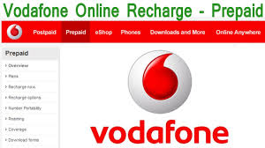 Vodafone In Vodafone Prepaid Online Recharge Demo