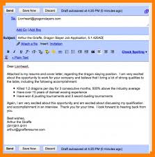 8 Resume Emailing Letter Of Apeal