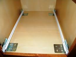 measuring for kitchen cabinet pull out shelves