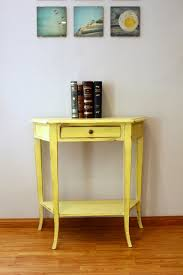 entryway console table. Furniture: Yellow Entryway Console Table In Home Design For Best Beautifying