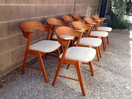 vintage style chairs.  Vintage Beautiful Danish Vintage Style Chairs For A