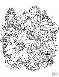 Free Printable Flower Coloring Pages Kids Glandigoartcom