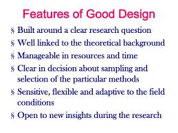 Features Of Good Research Design Ppt Research Design Powerpoint Presentation Free Download