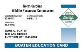 A Boating North To License Carolina How Get Replacement