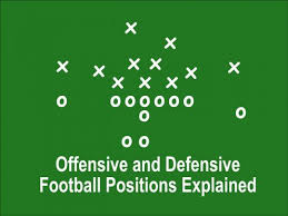 How To Chart A Football Game Offensive And Defensive Football Positions Explained