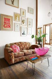 bohemian style furniture. A Distinctive Gallery Wall Makes Bold Appearance That Is So Necessary In This Clean Open Bohemian Style Furniture