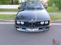 BMW Convertible 1985 bmw m635csi : BMW E24 M635CSI