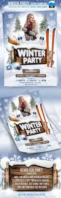 winter party flyer template startupstacks com winter party flyer template