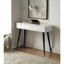 4d concepts white and black desk